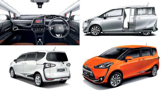 MPV Pilihan Keluarga Bawah Harga RM100K - Toyota Sienta