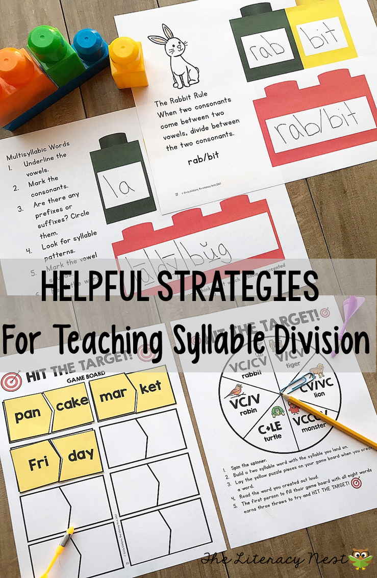 syllable division Finding online games to help practice problem areas can be time consuming for a parent when homeschooling i know there are tons of good online games out there, but sorting through them for me is too time consuming.