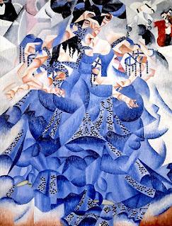 Resultado de imagen de la bailarina azul de Severini
