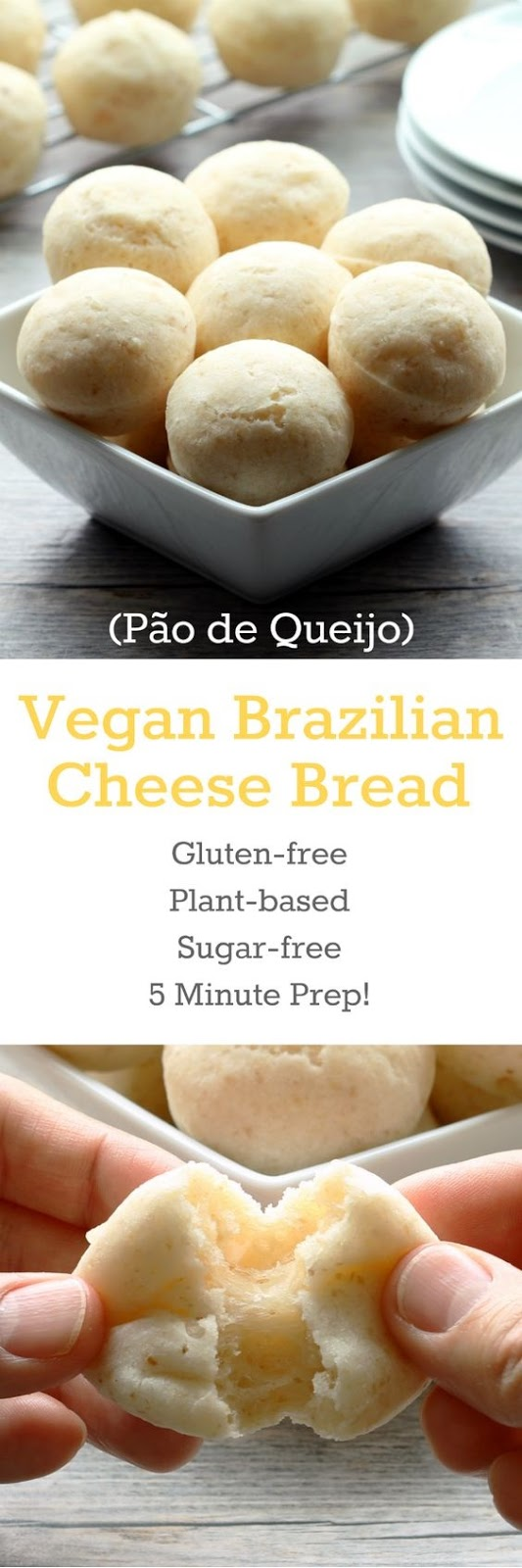 Vegan Brazilian Cheese Bread