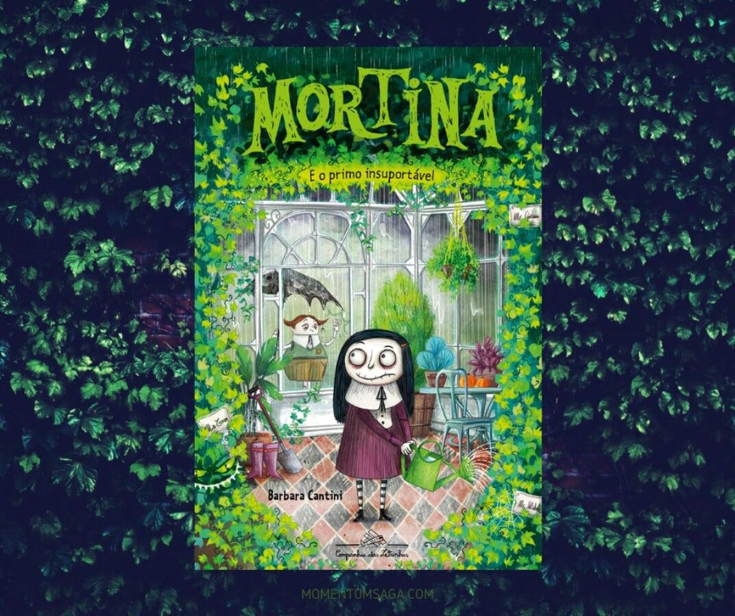 Resenha: Mortina e o primo insuportável, de Barbara Cantini