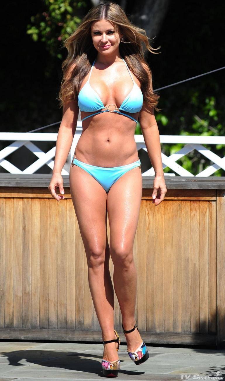 Bd Media 24 Carmen Electra Bikini Pool Hot  Sexy Style -1428