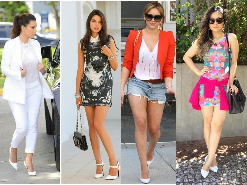 e0b45b6c94 Blog da Janaina Honjoya  Moda  Looks com scarpin branco