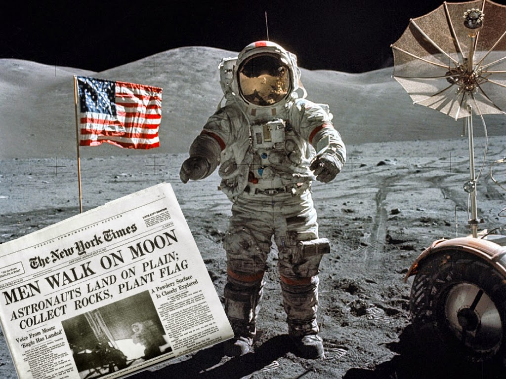 DOGBRINDLE.COM : Apollo 11 - Did The Moon-Walk Really ...