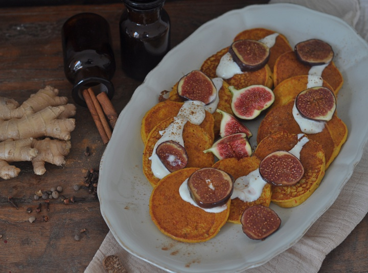 gluten free Pumpkin Pancakes, easy to make and oh-so delicious