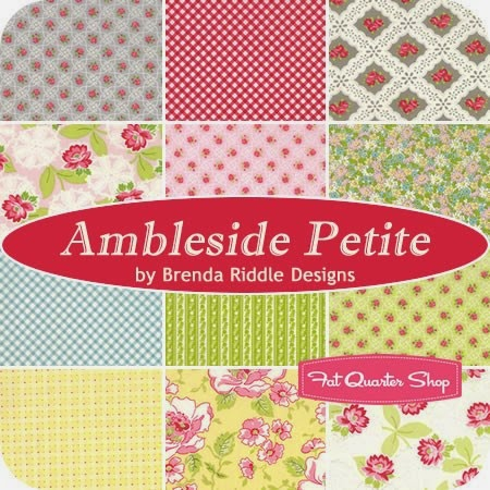 Ambleside Petite Fat Quarter Bundle Brenda Riddle Designs for Moda Fabrics