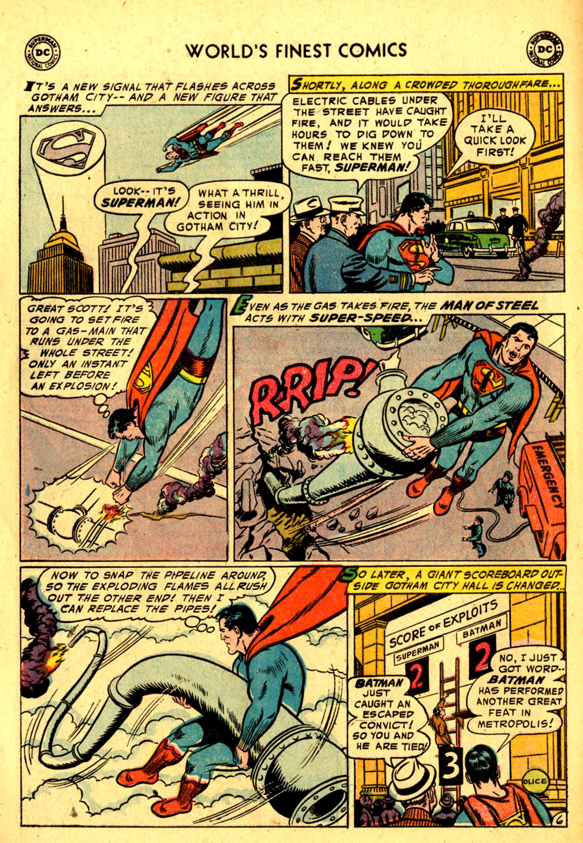 Read online World's Finest Comics comic -  Issue #76 - 8