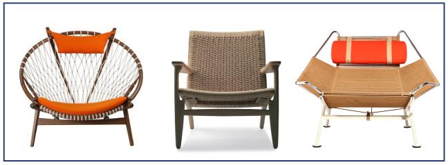 Hans Wegner chairs, Cozy•Stylish•Chic