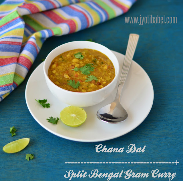 Chana Dal Recipe | Split Bengal Gram Curry Recipe