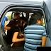 WATCH: Magshotang nagparaos sa loob ng SUV, nahuli