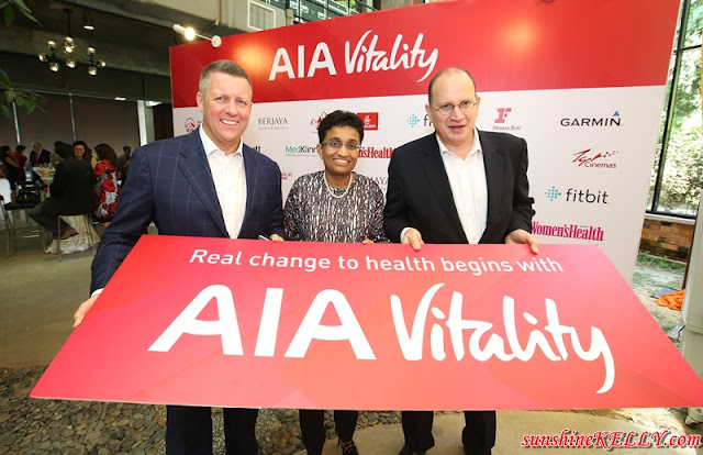 AIA Vitality, Simple steps to better health