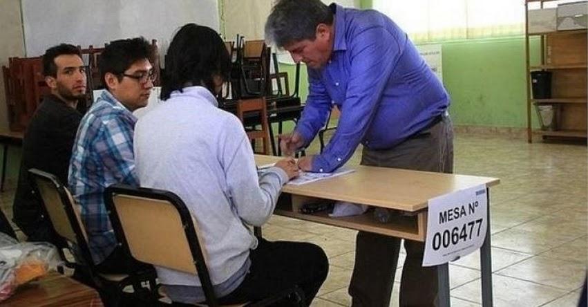 REFERÉNDUM 2018: Los miembros de mesa para la consulta popular del 9 de diciembre serán los mismos de las elecciones