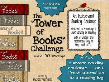 http://www.teacherspayteachers.com/Product/The-Tower-of-Books-Challenge-An-Independent-Reading-Challenge-684824