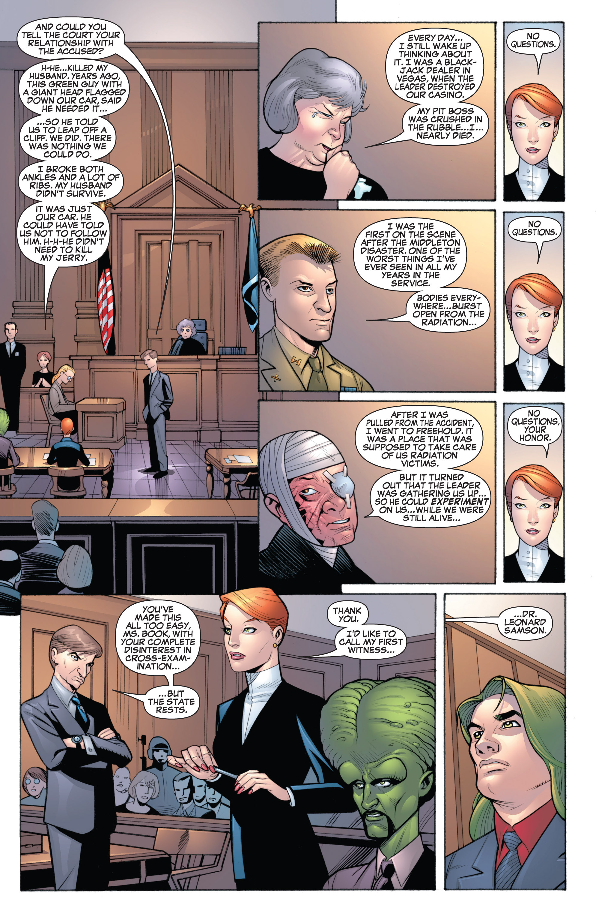 Read online She-Hulk (2005) comic -  Issue #19 - 11