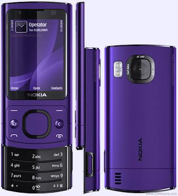 Nokia 6700 màu tím