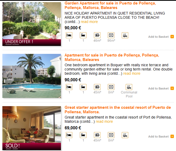 Websites For Apartments: My Search For A Home: Apartments And Condos In Mallorca