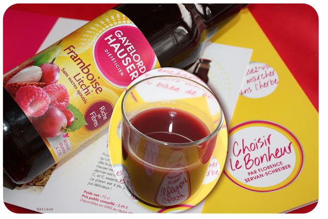 jus framboise litchi Gayelord Hauser