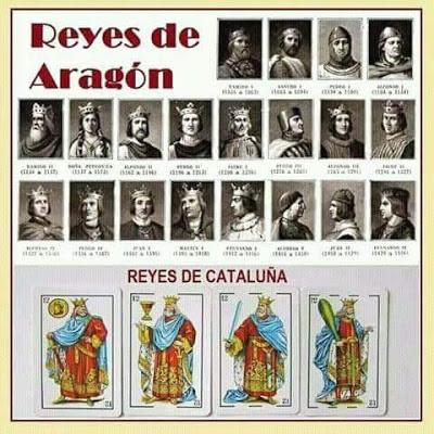 Els reis catalans, JA JA JA, los reys de Aragó