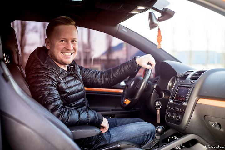 man driver portrait