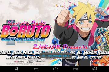 Download Game Boruto Naruto Next Generation Unlimited Coins Mod Apk (All Character) By Nadel