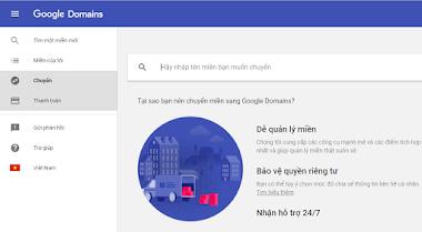 Google Domain đã hết giai đoạn Beta, thay đổi giao diện đẹp mắt