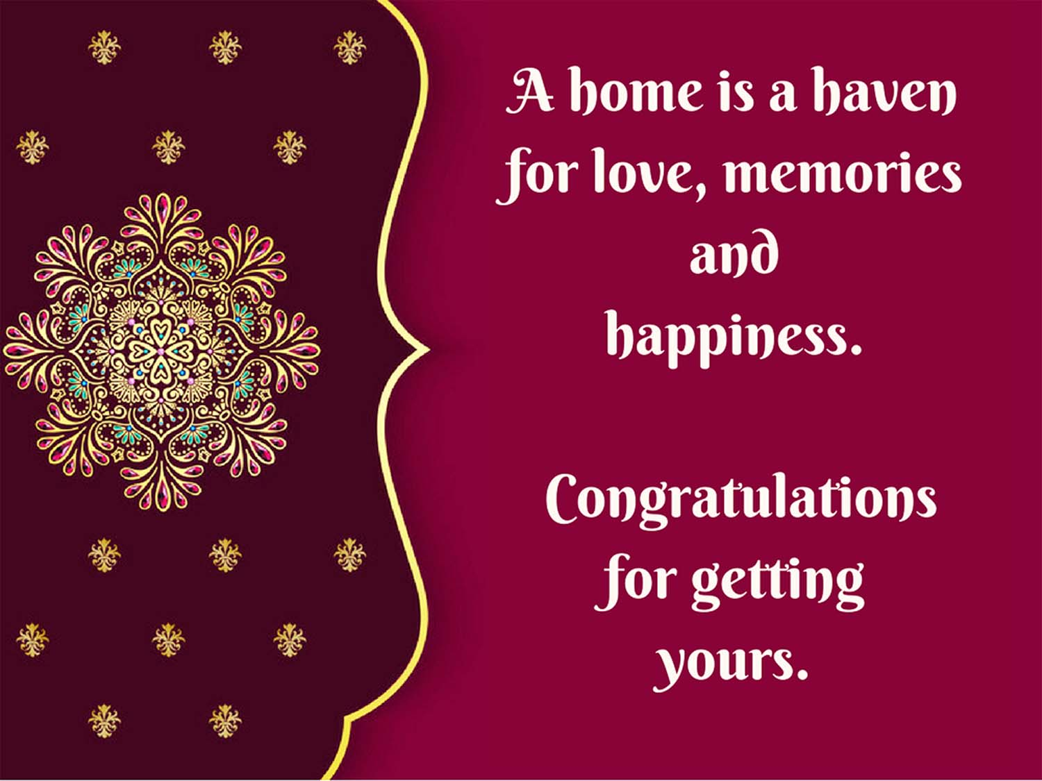Griha pravesh quotes wishes good luck in your new home messages housewarming wishes pictures m4hsunfo