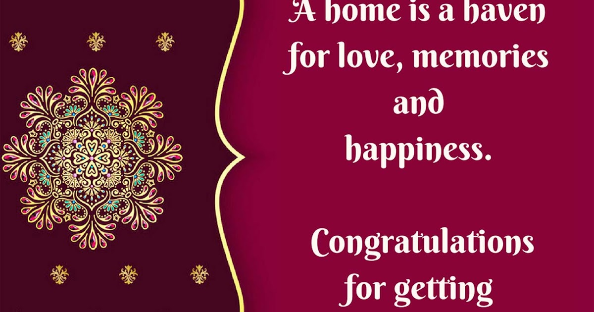 Griha Pravesh Quotes Wishes Good Luck In Your New Home Messages