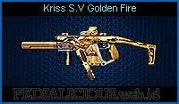 Kriss S.V Golden Fire