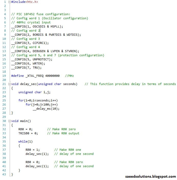 blink html example codes
