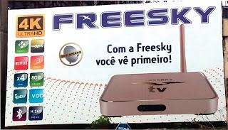 ATUALIZAÇÃO FREESKY OTT 4K DOURADO V 2.02. 760 - 19/05/2018