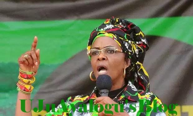 4 arrested for booing Zimbabwe's Grace Mugabe