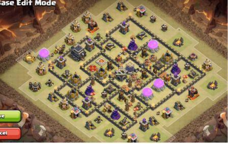 Base Coc Th 9 Pangkalan Perang 5