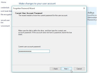 Cara membuat password reset disk windows 10