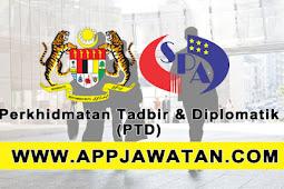 Iklan Permohonan Kemasukan Khas ke Skim Perkhidmatan Tadbir & Diplomatik (PTD) - 18 Ogos 2017