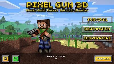 Download Game Pixel Gun 3D (MEGA MOD) APK + MOD APK v13.0.3 Offline