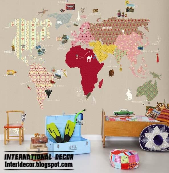 Interior Design 2014: Wall decorating ideas for Children's ...