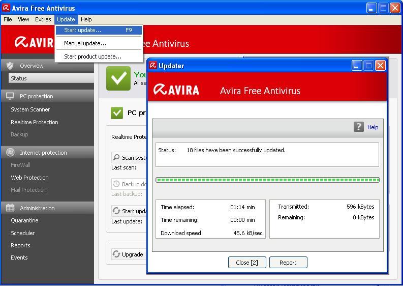 Free download antivirus avira terbaru 2012
