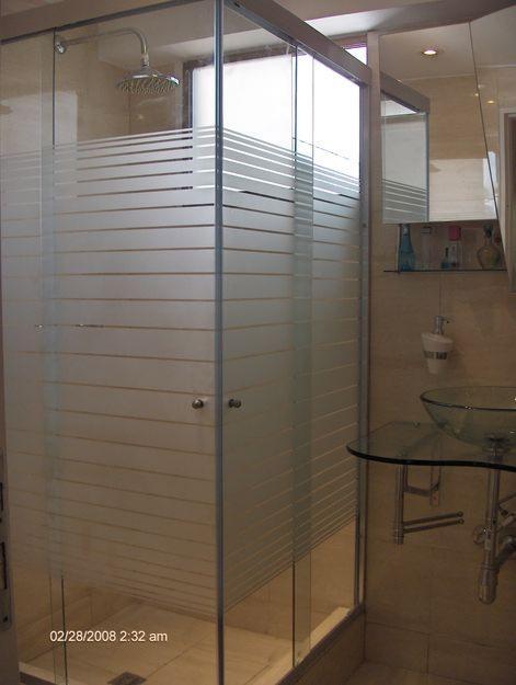 Comdecora puerta de ducha en vidrio for Puertas de cristal para duchas