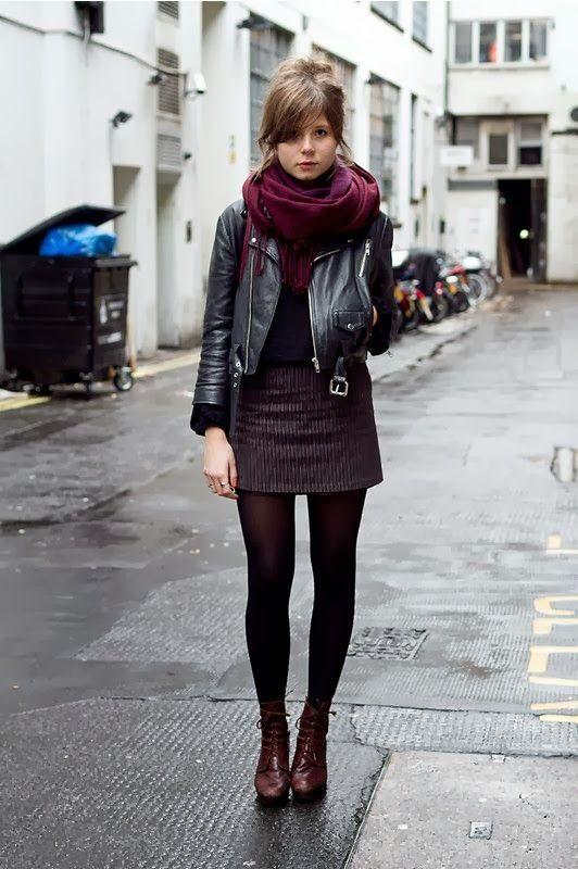Como usar saia no Inverno-Cris Felix