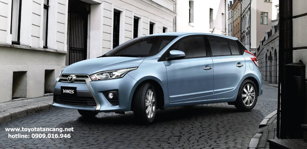 """toyota yaris 2015 e g toyota tan cang 1 -  - Giá xe Toyota Yaris 2015 nhập khẩu - """"Quả bom tấn"""" của dòng Hatchback"""