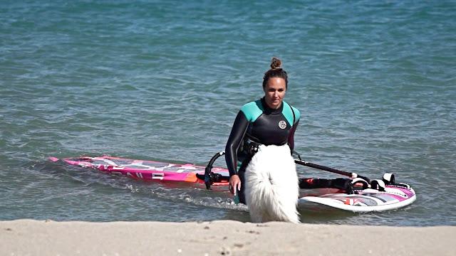 Oceane Gilles Le Rouet Windsurf