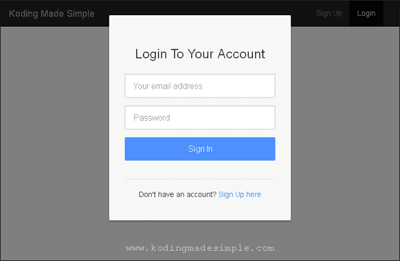 bootstrap-ajax-login-form-modal