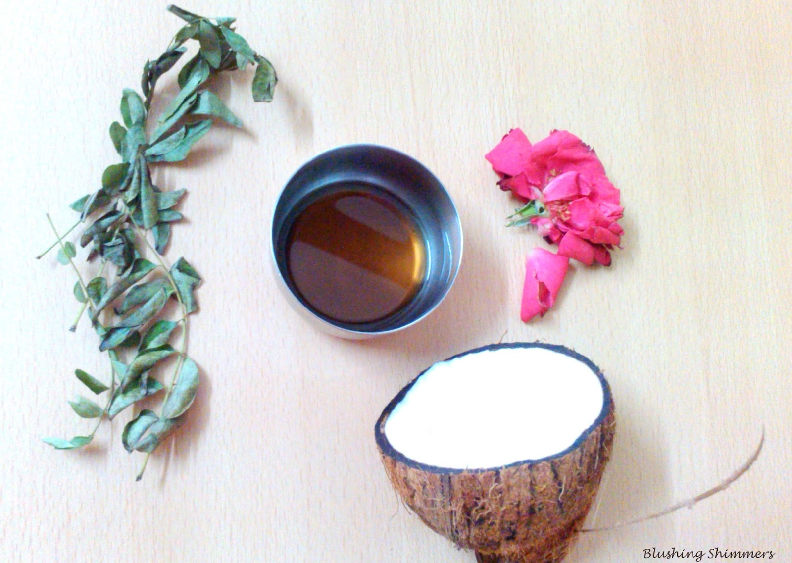 Coconut oil diy for hairfall