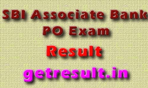 SBI Associate Bank PO Exam Results 2014