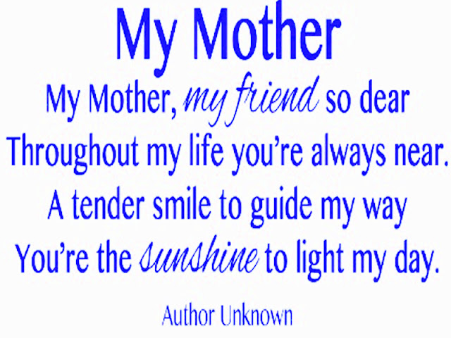 Best Mothers Day Poems  2017