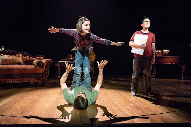 Tesori, Kron & Bechdel: Fun Home - Brooke Haynes, Kaisa Hammarlund, Zubin Varla- Young VIc (Photo Marc Brenner)