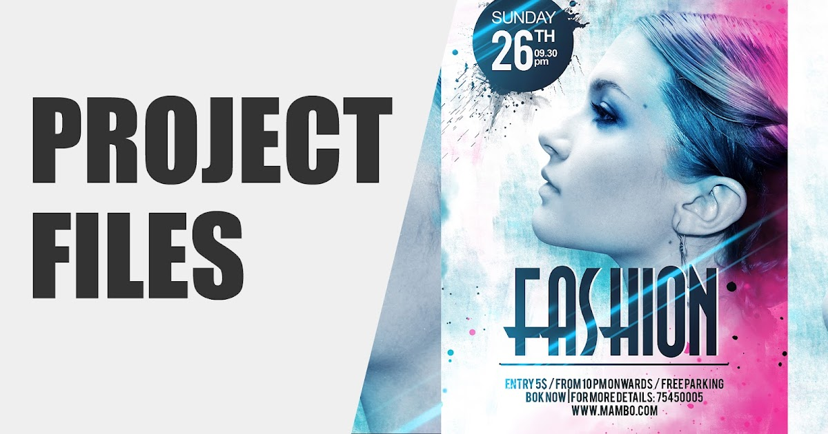Click3d Fashion Flyer Design Fashion Poster Design Photoshop - fashion poster design