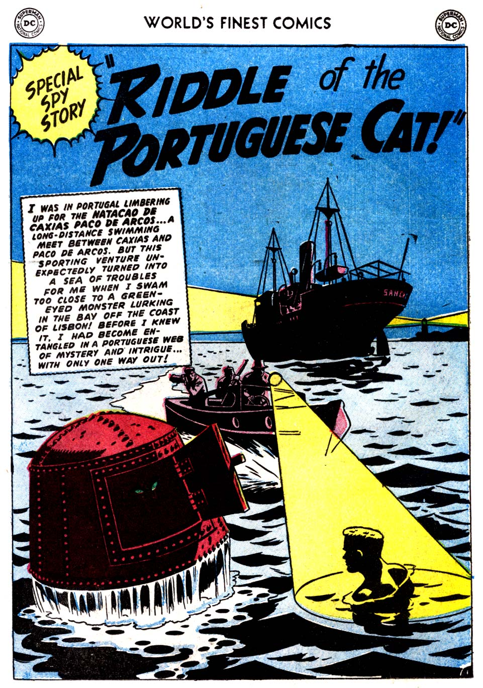Read online World's Finest Comics comic -  Issue #68 - 43