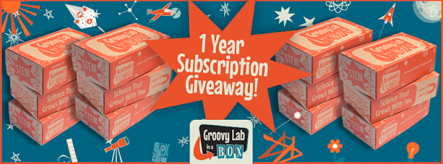 Win a One-Year Subscription from Groovy Lab in a Box!