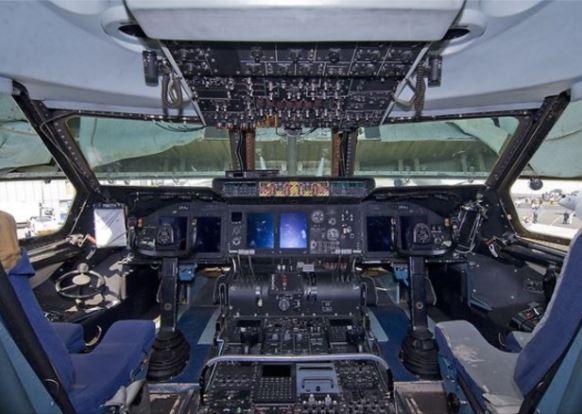 C-5 Galaxy cockpit
